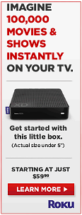 Roku - 100,000 Movies on YOUR TV!