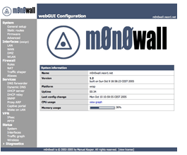 m0n0wall Firewall